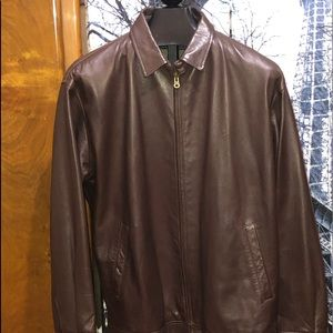 Polo by Ralph Lauren Men's Leather Jacket